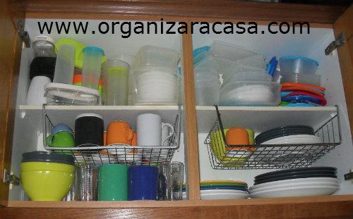Como organizar um armario de cozinha trendy dicas para organizar a cozinha with como organizar - Como organizar armarios ...