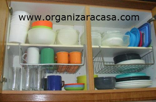 Tuca Artesanato Resende Costa ~ Organizar Destralhar o Armário da Cozinha!