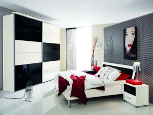Great-and-Nice-Black-White-and-Red-Bedroom-Ideas