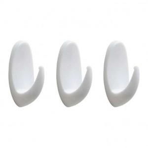 Viva-Utile-Kit-com-3-Ganchos-Adesivos-Oval-MC3A9dio-Branco-Viva-Utile-5229-386401-1-zoom