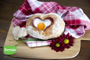 Pão Saloio com coração amanteigado Cerrado do Vale