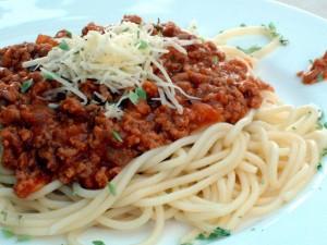 Esparguete-á-bolonhesa